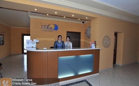 Абхазия Гагра Отель Алекс Бич
