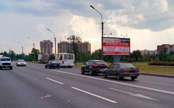 Рекламный щит 3х6м