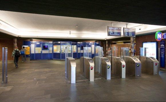 Реклама на вокзалах железной